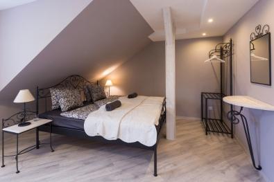 classic wrought iron bed Malaga