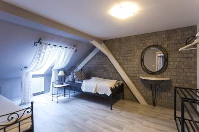 classic wrought iron single bed Malaga