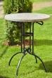 Garten Tisch Ohio mit Travertinplatte