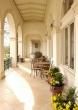 Reha-Sanatorium Brandys, Geländer und Gartenmöbel aus Eisen
