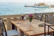 Iron furniture for garden restaurant - Taverna Riva