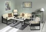 Sofa, Sesseln und Konferenztisch La Manga