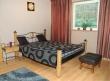iron bed with wood Stromboli