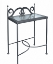Night table CARTAGENA with glass