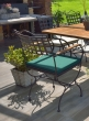 Garden chair VERSAILLES with armrests