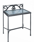 Night table GRANADA with glass