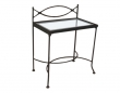 Night table THOLEN with glass