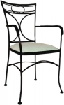 Chair with armrests OHIO